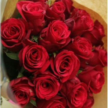 Ramo de Rosas en Papel Madera